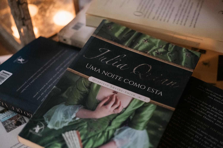 Livro Uma Noite Como Esta, de Julia Quinn. Quarteto Smythe-Smith 2